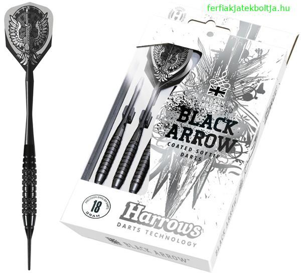 Harrows Black Arrow soft darts készlet