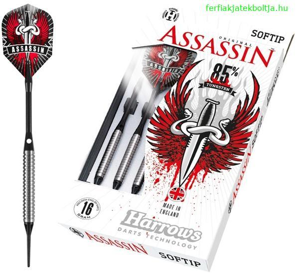 Harrows Assassin 85% soft darts készlet - Férfias játékok webáruháza ... 3f5fc23ce5