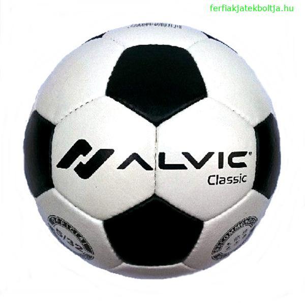 Alvic Classic bőr focilabda, AVFLE0003