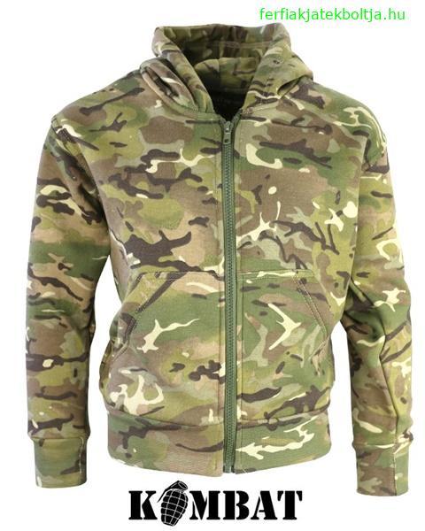 Kombat katonai gyerek pulóver c969ac9068