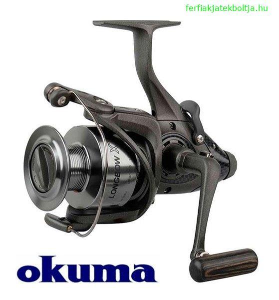 Okuma Longbow nyeletőfékes orsó XT-55, 54212