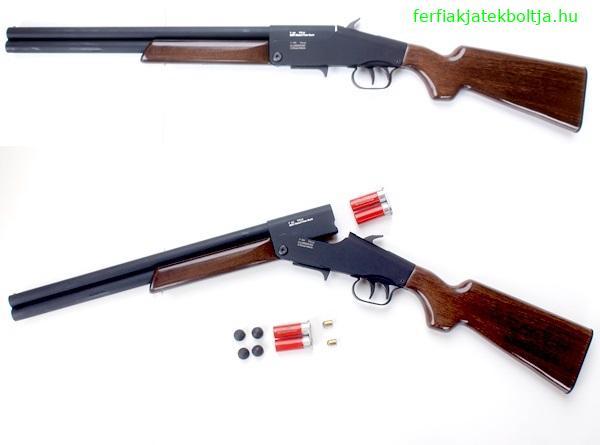 G-ShooT 4Matic Long gumilövedékes puska cserélhető tárral