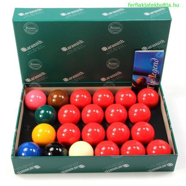 Aramith Snooker golyókészlet 52,4mm, SALSA-524