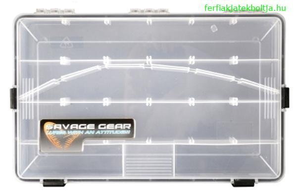 Savage Gear WPB N.8 vízhatlan doboz, 35,5x23x5cm, 54797