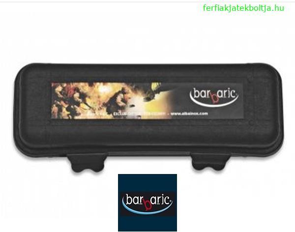 Barbaric műanyag tároló doboz, szivacsos, 14x5x4 cm, 33924