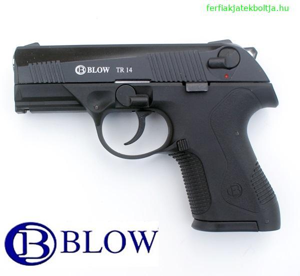 Blow TR 914 gázpisztoly, 9 mm, fekete