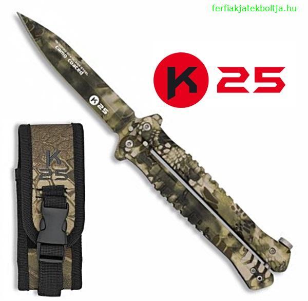 K25 Tactical Sand Python pillangókés, 02132