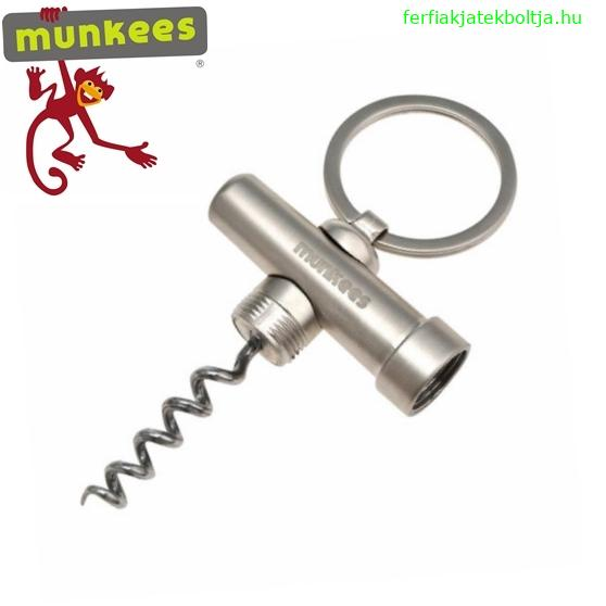 Munkees dugóhúzó kulcstartó, 3459