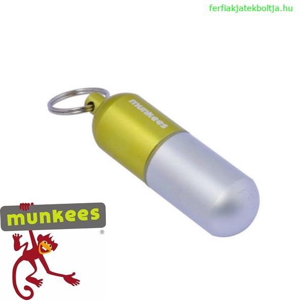 Munkees vízhatlan kapszula kulcstartó, 3627
