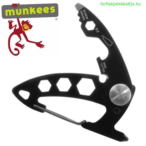 Munkees multifunkciós karabiner és kulcstartó, 2533