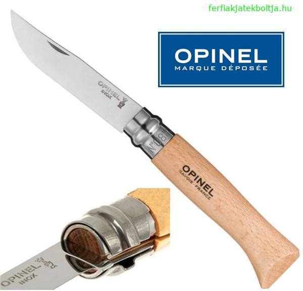 Opinel inox bicska, No.8