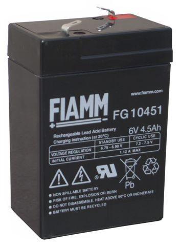 Akkumulátor 6V, 4 Ah