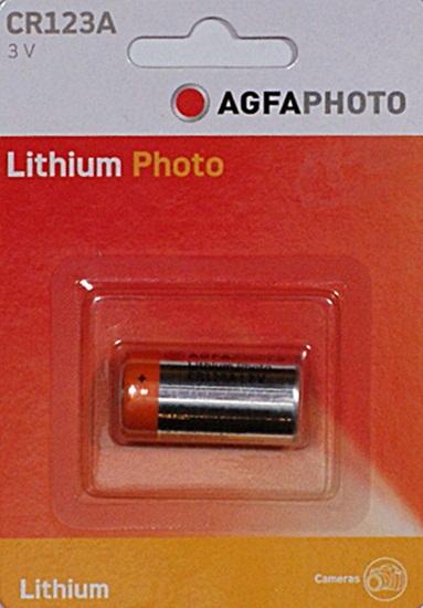 Agfa  CR123A elem