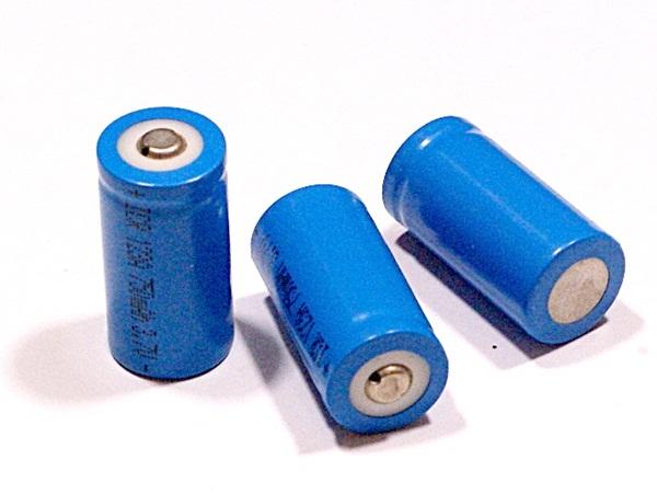 Líthium-ion akkumulátor, RCR 123A