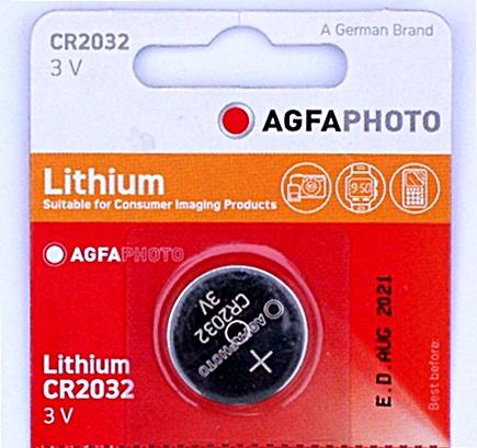 AGFA CR2032 líthium elem