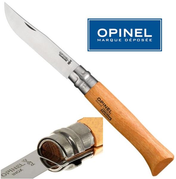 Opinel carbon steel bicska, No.12