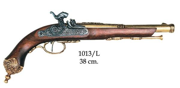 Olasz csappantyús pisztoly, arany, 100-113