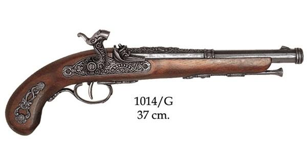 Francia csappantyús pisztoly, 100-1014