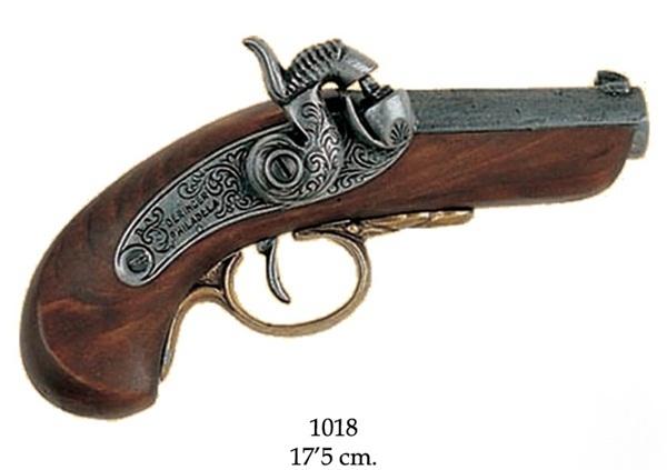 Deringer zsebpisztoly, 100-1018