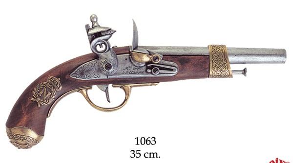 Napóleon kovás pisztoly, 1063