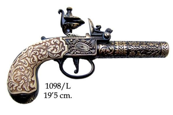 Angol kovás zsebpisztoly, 1098/L