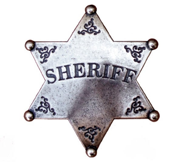 Hatágú sheriff csillag, 101