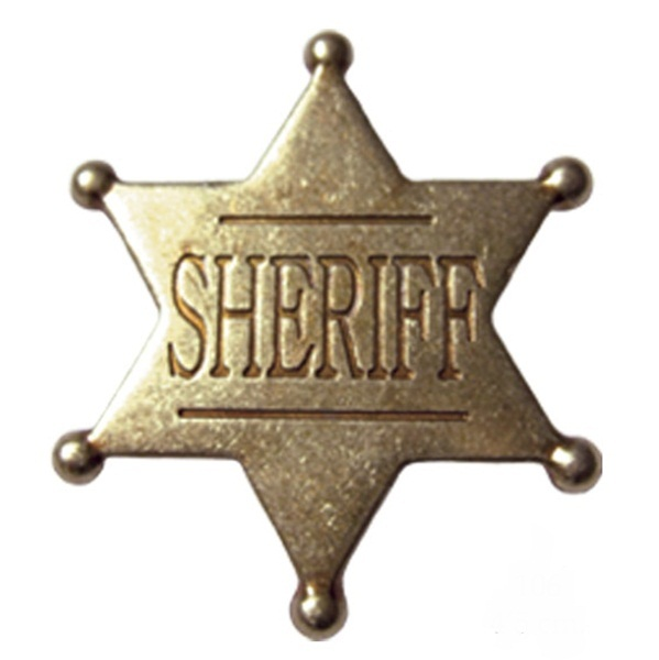 Hatágú sheriff csillag, 106