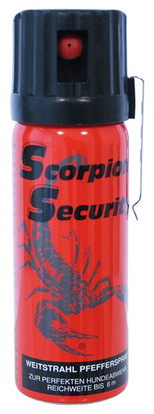 Scorpion paprika gázspray, 50 ml