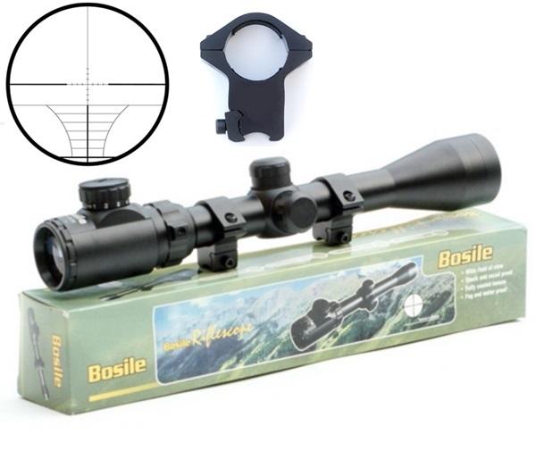Bosile fegyvertávcső, 6-12x44, világítós szálkereszt
