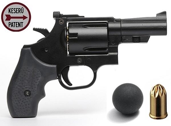 Keserű Onesta gumilövedékes revolver, 18 mm-es