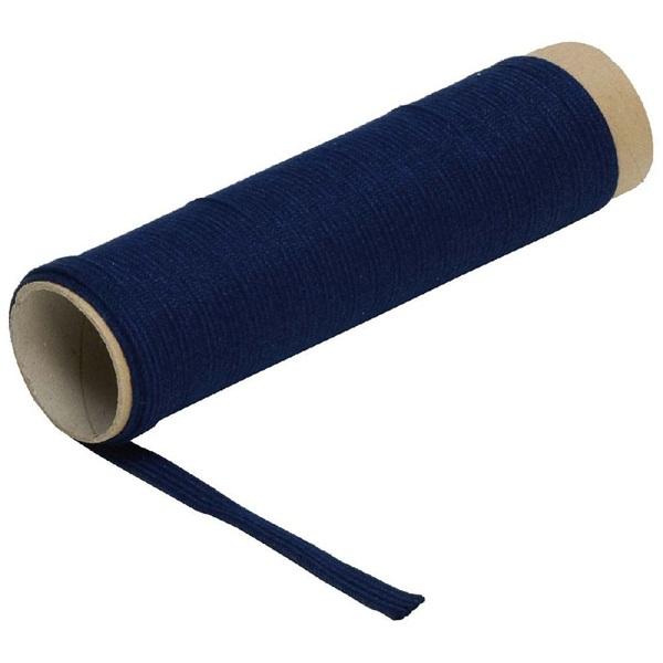Pamut szalag, kék, 63000