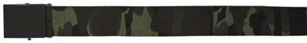 Gyöngyvászon öv fém csattal, CZ-camo, 22573J
