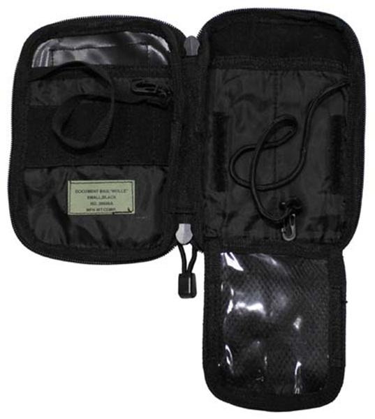 """Dokumentumtartó táska """"Molle"""", fekete, 30606A"""