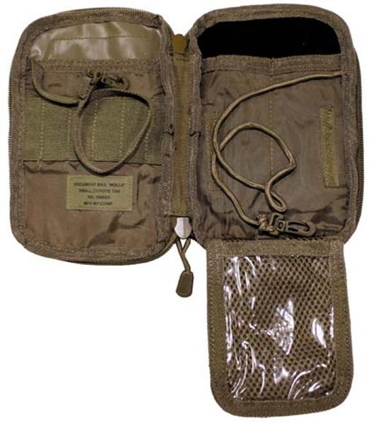 """Dokumentumtartó táska """"Molle"""", coyote, 30606R"""