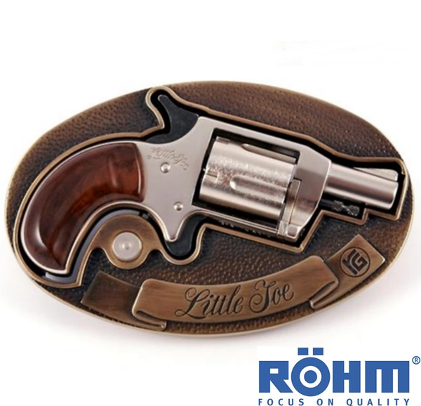 Röhm Little Joe gázpisztoly övcsattal, 6 mm