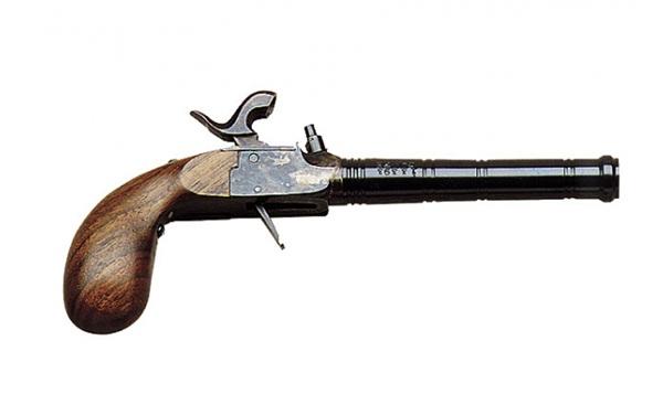 DP Liège Pocket Derringer, .36 cal, díszdobozban