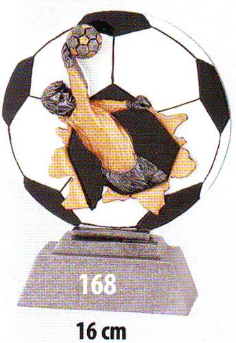 Labdarúgó trófea, kapus, 168