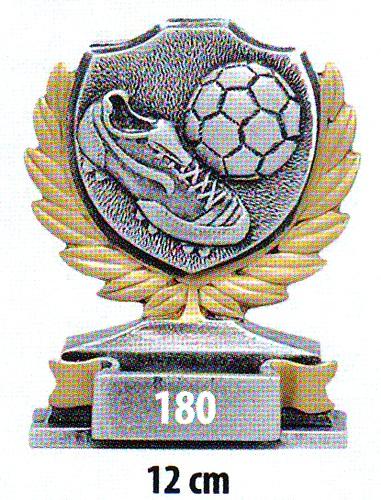 Labdarúgó trófea, 180