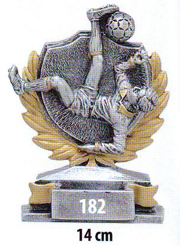 Labdarúgó trófea, 182
