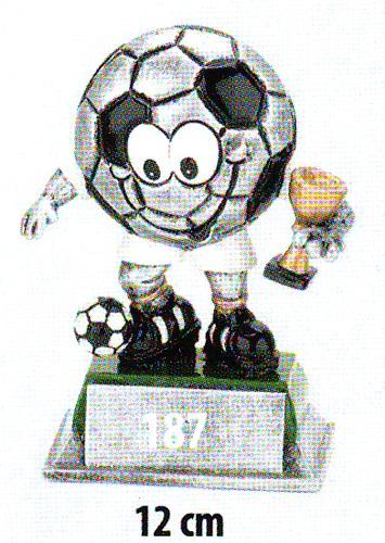 Labdarúgó trófea, 187