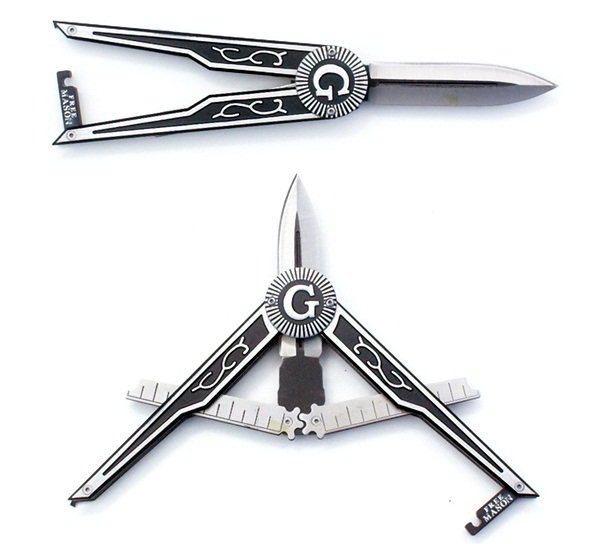 Masonic Paratrooper ejtőernyős kés, CN211463