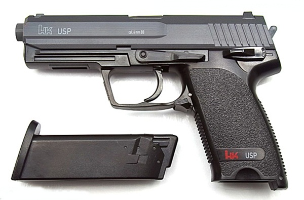Heckler&Koch USP airsoft pisztoly, CO2