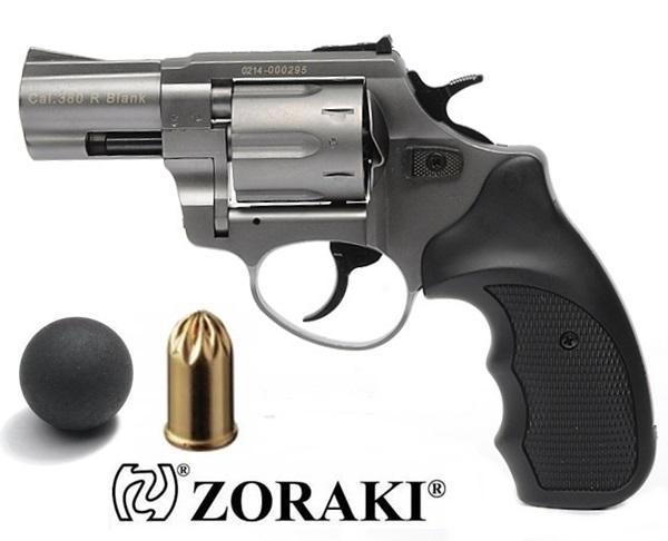 "Zoraki R1 GG gumilövedékes revolver, 2,5"" titánszürke"