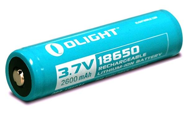 Olight Líthium-ion akkumulátor, 18650, 2600 mAh,