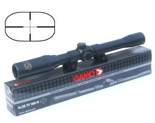 Gamo 4x20 légpuska távcső, TV WA-N