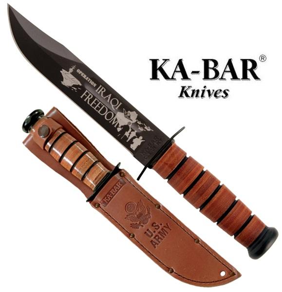 Ka-Bar U.S. Army Iraqi Freedom jubileumi kés, KB-9127