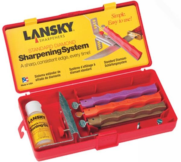 Lansky Standard Diamond élező készlet, 3 köves, LK3DM