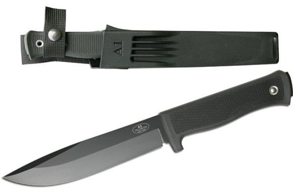 Fallkniven A1 Black, Zytel tokkal