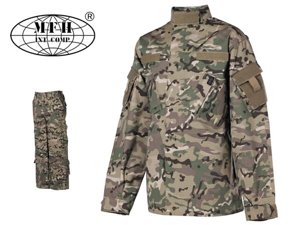 Terepszínű gyermek ruha szett, kabát és nadrág, operation-camo, 17213X