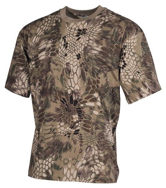Póló kígyóbőrös mintával, snake FG, 00105O